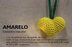 Coração de crochet, quer fazer?