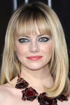 Emma Stone at the 2013 premiere of 'Gangster Squad.'