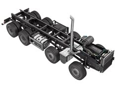 model: Realistic model of truck chassis - file includes only the model without the environment. Rc Trucks, Custom Trucks, Remote Control Cars, Radio Control, Plastic Model Kits, Plastic Models, Homemade Go Kart, Model Truck Kits, Wooden Toy Trucks