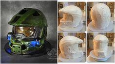 how to make a cupcake step by step tutorial | ... by step http artisancakecompany com 2013 05 halo helmet cake tutorial