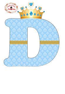 EUGENIA - KATIA ARTS - LETTERS AND CUSTOM BLOG few things: Alphabet Royalty