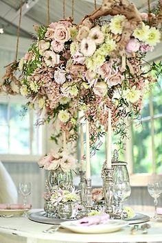 Beautiful Shabby Chic Table Idea