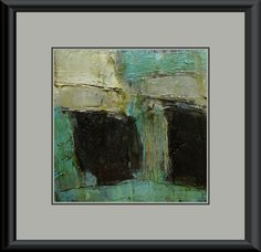 Oil Painting Abstract Original Panel Expressionism by colettedavis