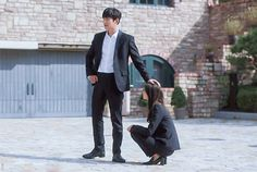 [The Korean Drama The K2 Korean Drama, Korean Drama Movies, Korean Actors, Yoona Ji Chang Wook, Ji Chang Wook Photoshoot, Weightlifting Fairy Kim Bok Joo, Yoona Snsd, Men Photography, Ulzzang Couple