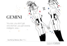 Astro Pin Up Collection #Gemini