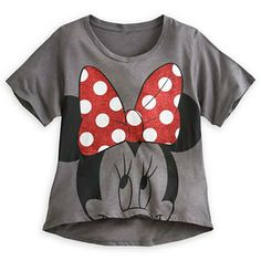 Minnie Mouse Tee for Women. I was looking at this shirt. Too cute.