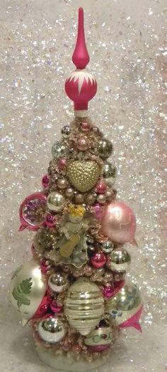 Ms Bingles Vintage Christmas: ~3 Bottle Brush Trees~