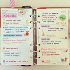Mila punto com – Inspiración: Agendas y Planificadores
