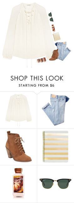 """""""600👍🏻👍🏻👌🏻✌🏻️🙌🏻"""" by allison-in-wonderland ❤ liked on Polyvore featuring Altuzarra, Jessica Simpson, Sugar Paper, tarte and Ray-Ban"""