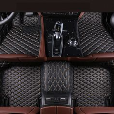 90.00$  Watch now - http://ali9jh.shopchina.info/go.php?t=32804643342 - Auto Floor Mats For Honda Accord 2007-2013 Foot Carpets Step Mat High Quality Brand New Embroidery Leather Mats  #buyininternet