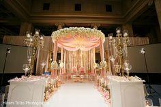 Marvelous wedding mandap decoration.
