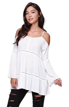 #reallycute cold shoulder tunic 6107 053961