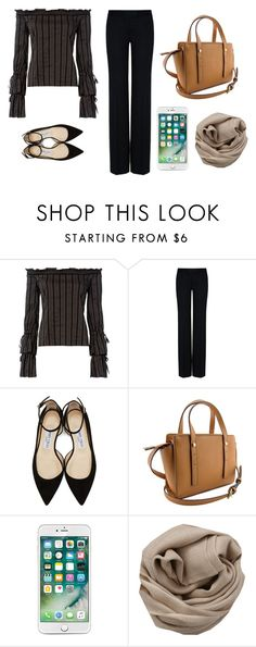 """🍫🍿"" by tania-carolina on Polyvore featuring moda, Exclusive for Intermix, STELLA McCARTNEY, Jimmy Choo e Brunello Cucinelli"