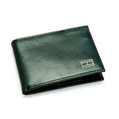 Tommy Hilfiger Black Pool Billfold Wallet - Tommy Hilfiger Wallets - Designer Wallets