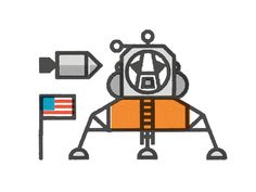 Dribbble - One Small Step by Eric R. Mortensen