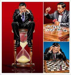 Bagong, Petruk, Nala Gareng Characters of Wayang Purwa *edit: Feb 2008, repaint this pic*