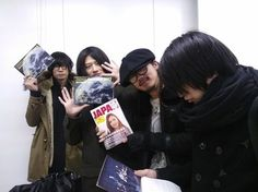 [Champagne]2012/12/19 JAPAN特製カレンダーに出てます!/「ROCKIN'ON JAPAN」編集部日記
