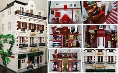 Lego Modular Hotel - Collage | Flickr - Photo Sharing!