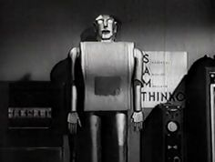 """Elektro appeared as """"Sam (Sequential Auxilliary Modulator) Thinko"""", in """"Sex Kittens Go to College"""" movie (1960)"""