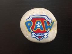 #pawpatrol #paintedrock #rockpainting #paw