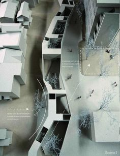 Creative Architecture, Urbanism, Yuki, Ito, and Models image ideas & inspiration on Designspiration Architecture Graphics, Architecture Student, Architecture Drawings, Concept Architecture, Interior Architecture, Conceptual Model Architecture, Architecture Illustrations, Architecture Panel, Architecture Diagrams
