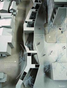 Yuki Ito,  maquette, architectural model, maqueta, modulo
