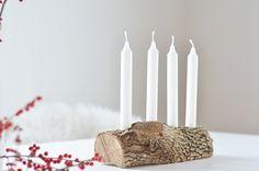 Schlichter Adventskranz aus HolzSchlichter Adventskranz aus Holz- ich zeige euch, wie ihr aus Holz einen nachhaltigen, schlichten und modernen Adventskranz selber machen könnt. Candles, Christmas, Moment, Simple, Bricolage Noel, Woodwind Instrument, Xmas, Candy, Navidad