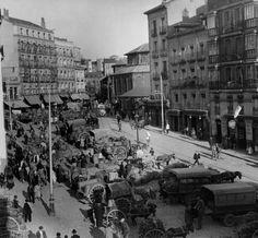 La foto de la semana: Plaza de Puerta de Moros (1929)