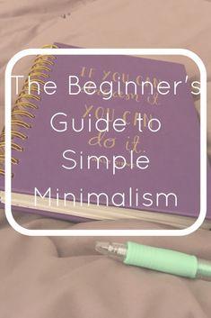 Minimalism Minimalist Intention Purpose Simple
