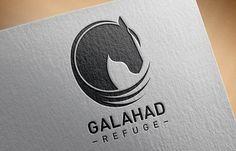 Branding refuge Galahad  Galahad est un grand réseau de foyers d'accueils pour chevaux à travers le Québec.  C'est une association de protection des chevaux qui a pour but de leur donner une deuxième chance.