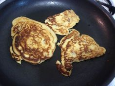 Bacon coconut flour pancakes