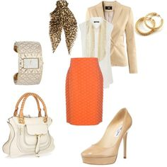 working girl..., created by lzidee on Polyvore