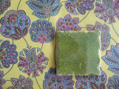 Handmade green tile, 150 x 150 mm. Wall paper by Pihlgren & Ritola. Wall Tiles, Wallpaper, Green, Handmade, Painting, Art, Room Tiles, Art Background, Hand Made