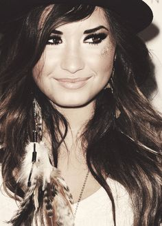 Why are you so god damn good looking Demi Lovato