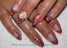 Coral  French Leopard