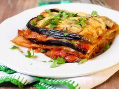 Receita low carb de lasanha de berinjela