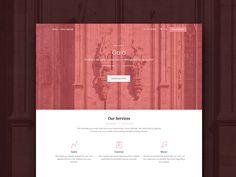 Gaia Bootstrap Template by Creative Tim