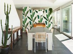 Carta da parati Wood Copacabana by All the fruits B&q Wallpaper, Bathroom Wallpaper, Exterior Design, Interior And Exterior, Outdoor Furniture Sets, Outdoor Decor, Wall Treatments, Designer Wallpaper, Paint Colors