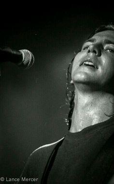 That beautiful sweaty neck...