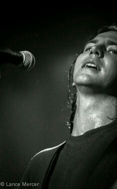 That beautiful sweaty neck...