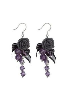 Image result for goth earrings