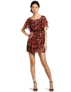 Romeo & Juliet Couture Women's Open Shoulder Dress http://click-this-info.tk/OpenShoulder