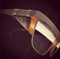Sunglasses Concepts by Mr Bailey, via Behance