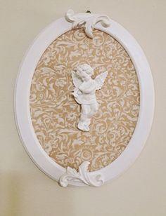 Quadro anjo da guarda por Marisa Artes