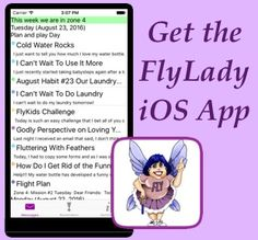 Don't let perfectionism hold you back. Work on your routines one baby step at a time. The FlyLady will help you get organized in your home.