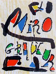 Miro Joan - Miro Graveur I