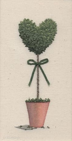 Jo Butcher, Embroidery Artist - Gallery - Category: Topiary