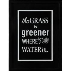 Grass is Greener Wall Decor