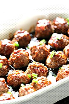 Healthy Recipes : Illustration Description Honey Sriracha Ground Turkey Meatballs Recipe – Six Sisters' Stuff Ground Turkey Meatballs, Frozen Turkey Meatballs, Meatballs 2, Healthy Turkey Meatballs, Terriyaki Meatballs, Turkey Mince, Parmesan Meatballs, Sauce Au Miel, Snacks Sains