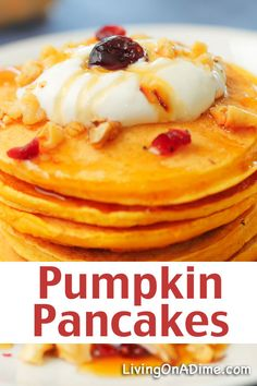 Pumpkin Pancakes Recipe - 16 Of The BEST Pumpkins Recipes